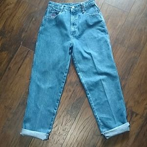 Authentic Vintage Rockies 80's high rise Mom jeans